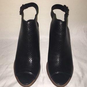 Never worn Black Ugg heels